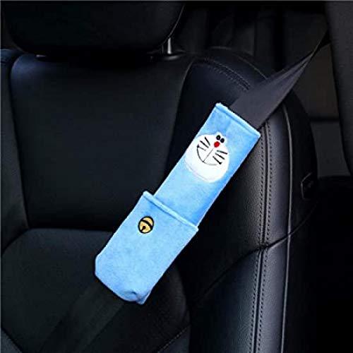 GM - Funda para cinturón de seguridad (2 piezas, 22 x 7 cm), diseño de gato