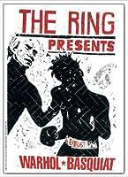 ポスター トーマス キルパー THE RING ウォーホル&バスキア 2000 額装品 アルミ製ハイグレードフレーム(ホワイト)