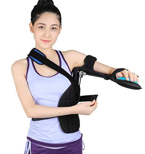 LXT PANDA Inmovilizador de Hombro, inmovilizador para Soporte de Lesiones en el Manguito de los rotadores, cirugía, dislocado, Brazo Roto - El Aparato ortopédico Incluye balón antiestrés, cuña