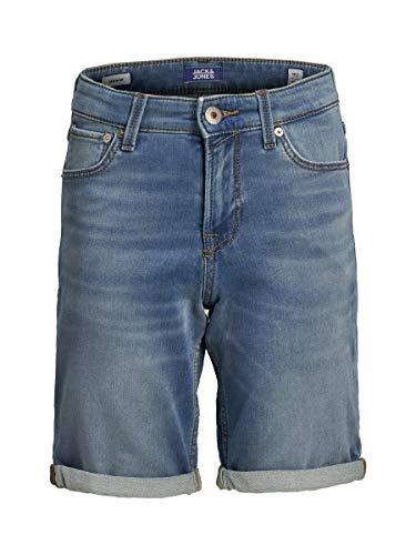 JACK & JONES Boy Jeansshorts Jungs Indigo Knit 164Blue Denim