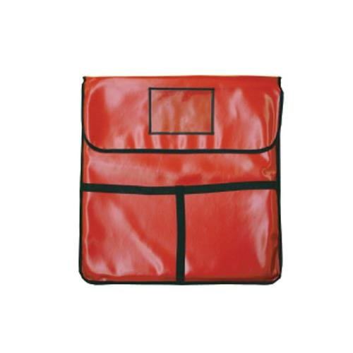 Thunder Group PLPB024 Pizza Delivery Bag, 24' X 24' X 5', Insulated, Red