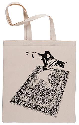 Das Kumpel Tanzen Auf Das Teppich Einkaufstasche Beige Shopping Bag Beige