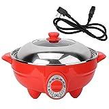 Nikou Hot Pot Électrique - 6L Multifonction Poêle Électrique Hot Pot BBQ Friture Cuisine Cook Grill 220V