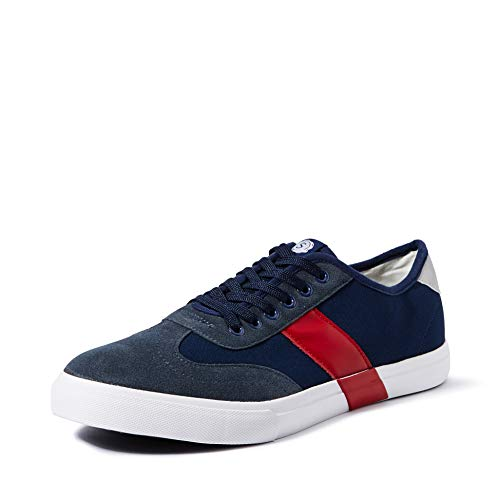 Amazon Brand - Symbol Men's Navy Sneakers-10 UK/India (44 EU) (AZ-YS-142B)