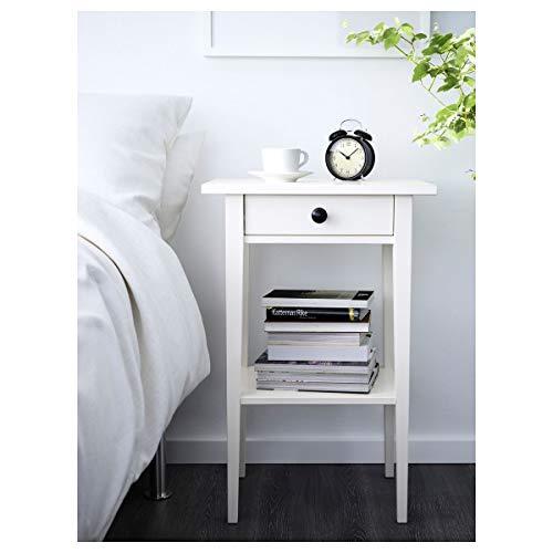 2er Set IKEA HEMNES Nachttisch 46x35x70cm weiß gebeizt