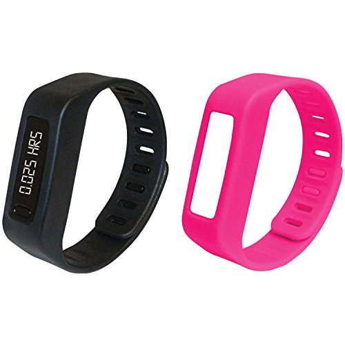 NAXA NSW-11PINK LifeForce+ Fitness Watch (Pink)