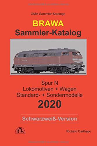 Brawa Sammler-Katalog Spur N 2020 Schwarzweiß-Version: