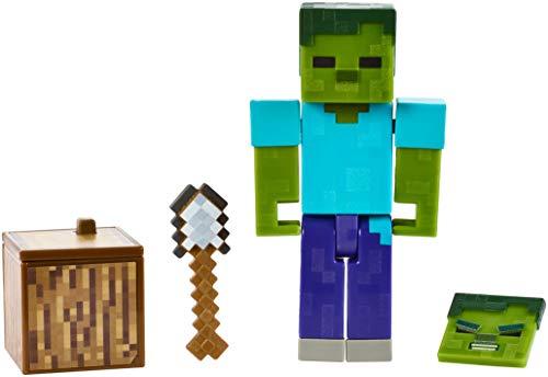 Minecraft Comic Mode Zombie Action Figure
