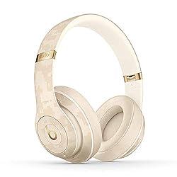 Beats Studio3 Wirelessワイヤレスノイズキャンセリングヘッドホン-Apple W1ヘッドフォンチップ、Class 1 Bluetooth、アクティブノイズキャンセリング機能、最長22時間の再生時間- サンドデューンの商品画像