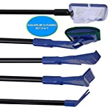 SSSSY Limpiafondos 5 en 1 Limpiador de Piscina Jacuzzi Skimmer Kit de Mantenimiento por Encima del Suelo Piscinas enterrada