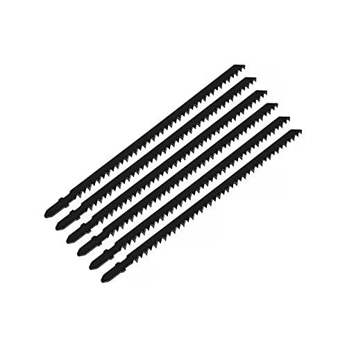KESHIKUI New Mei 6 unids T744D 180 mm Jigsaw Saw Blade Transporte de la Herramienta de Poder de Corte rápido Ajuste para la Herramienta de Corte de plástico de Madera Ajuste para Makita Bosch Dewalt