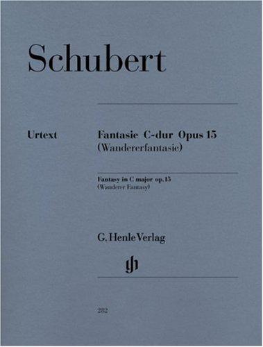 Fantasie C-Dur Op 15 d 760 - Wandererfantasie. Klavier