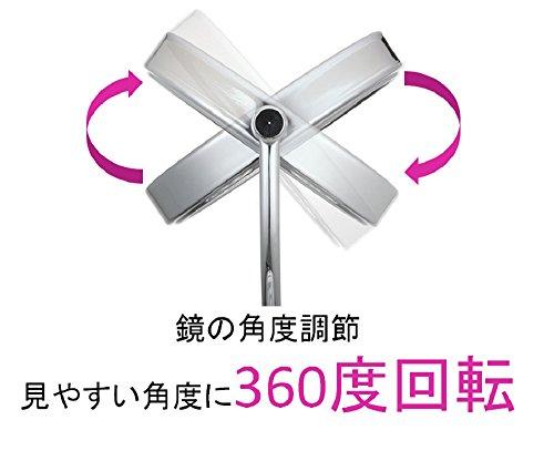 コイズミ拡大鏡サイズφ75mmシルバーKBE-3060/S