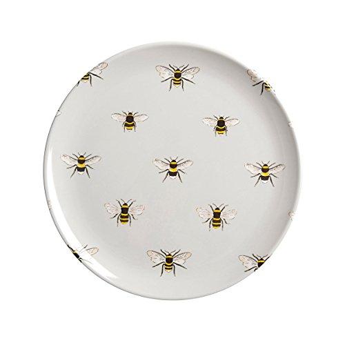 Sophie Allport Assiette en mélamine pour enfants – motif abeilles