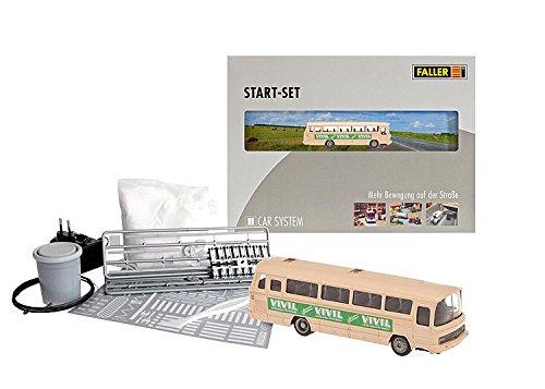 Faller FA161501 - Car System Start-Set Vivil Bus, Zubehör für die Modelleisenbahn, Modellbau