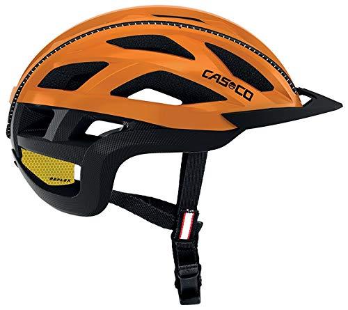 Casco Cuda 2 Fahrradhelm - orange schwarz-matt, Kopfumfang:52-56 cm