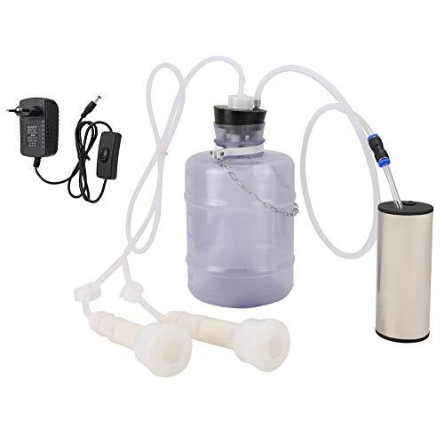 HEEPDD Kit de máquina de ordeño eléctrico de 3 litros, máquina de...