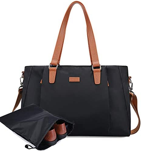 ECOSUSI Duffel Bag Women Overnight Weekender Bag 25L Nylon Carry On Bags Hospital Tote Bag Ladies product image