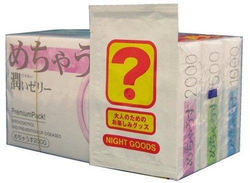 Japan Condooms - Mecha mortel gesorteerd [met Enjoy goods] 1 doos 12 co-input ?3 pack *AF27*
