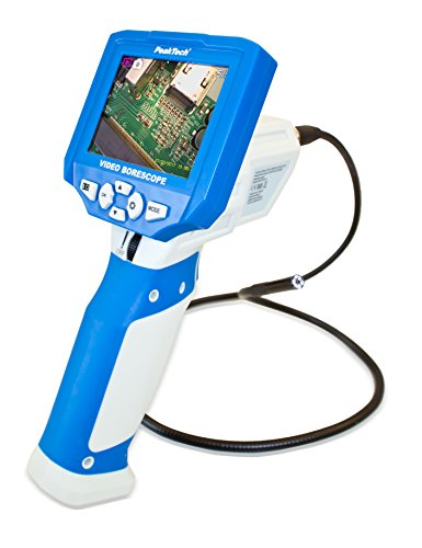 PeakTech 5600 - Video-Endoskop-Kamera mit TFT-Display und 4 GB SD-Card