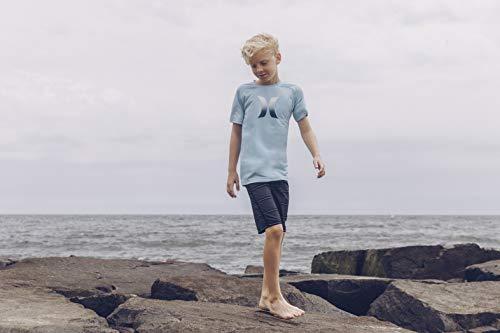 Hurley Boys' Little Classic Board Shorts, Black Shoreline, 7