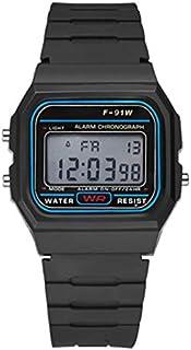 Orologio sportivo digitale impermeabile da uomo multifunzionale con orologio da polso intelligente a luce LED Watche lumin...