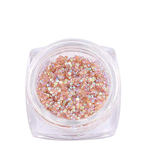 Petit Cristaux Strass Ongle Nail Art 1440pièces 1mm Mini Deco Minuscule Diamant Decoration Accessories Bijoux Gemme (01)
