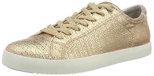 Tamaris Damen 23635 Sneakers, Gold (Rose Metallic 952), 40 EU