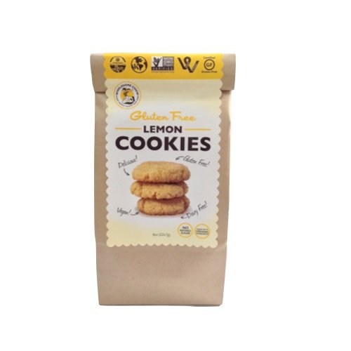 Wholesome Chow, Cookies Lemon, 8 Ounce