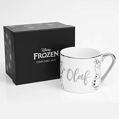 Widdop Disney Mug Kaffeetasse Tasse Pott Teetasse Frozen II Olaf