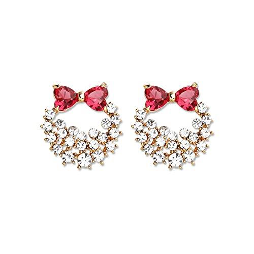S925 Pendientes de amor de perlas de aguja de plata Pendientes Diseño de moda europeo y americano Pendientes elegantes Pendientes de personalidad de temperamento dulce