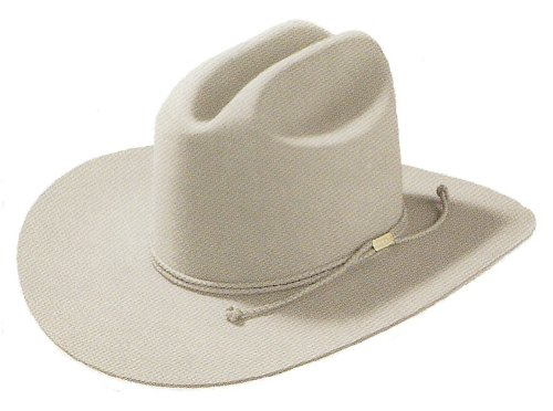 Stetson 0462 Carson hat color Silver Belly, TV show 'Justified' Raylan Givens hat (7 1/2)