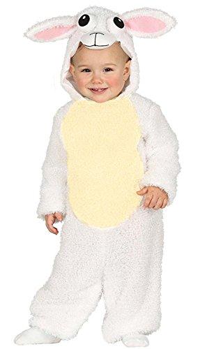 Baby Kostüm Schaf Hanna Gr. 68-92 Kleinkind Tier Ostern Fasching (80/92)