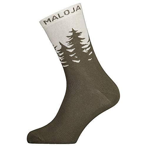 Maloja LabanM. Socks Größe 43-46 Moss