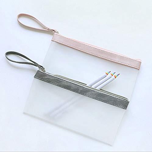 SEDEX Estuche Escolar Transparentes Estuche para Lápices Material Escolar Bonito Bolsa De Lápiz Neceser Maquillaje de Chicas Pencil Bag Bolígrafo útiles Niños Pencil Case
