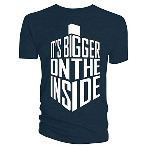 Doctor Who - Tardis T-Shirt - It's Bigger On The Inside (Small)