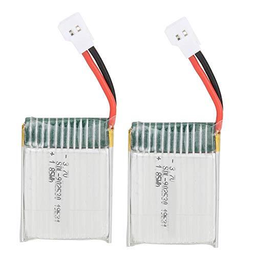 Germerse Batería de Repuesto RC, 2 Piezas 3,7 V batería de avión RC, avión RC para Principiantes Duradero para Control Remoto WLtoys
