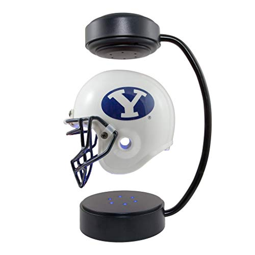 BYU Cougars NCAA Hover Helmet - Collectible Levitating Football Helmet with Electromagnetic Stand