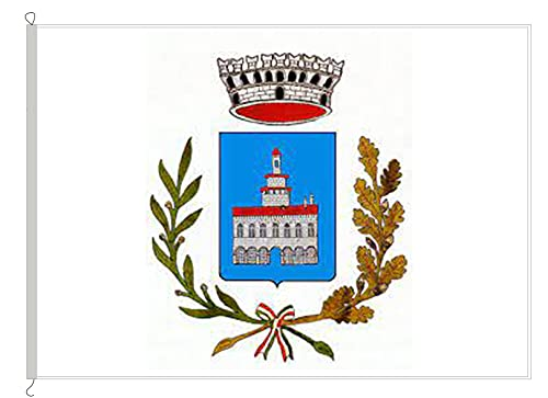 AL PRODUCTION En la producción frecuente de Cusago Med. 150 x 220 Bandera de Tejido náutico Cuerda y Funda