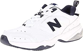 New Balance Men s 624 V2 Casual Comfort Cross Trainer White/Navy 9 M US