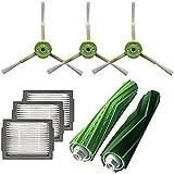 LLXXD para Filtro Hepa+Cepillo Lateral +Rodillo de Cepillo para...