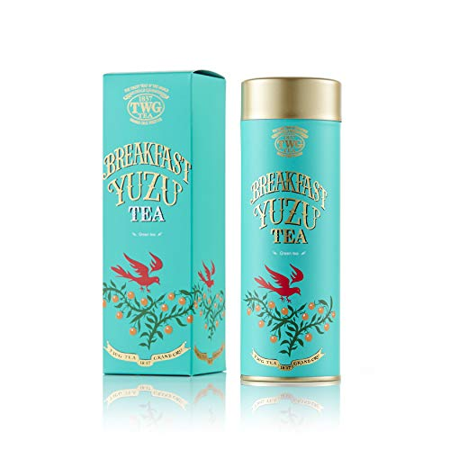シンガポールの高級紅茶TWGオートクチュール Breakfast Yuzu Tea / バレンタインブレックファーストティー- 100gr - 並行輸入品