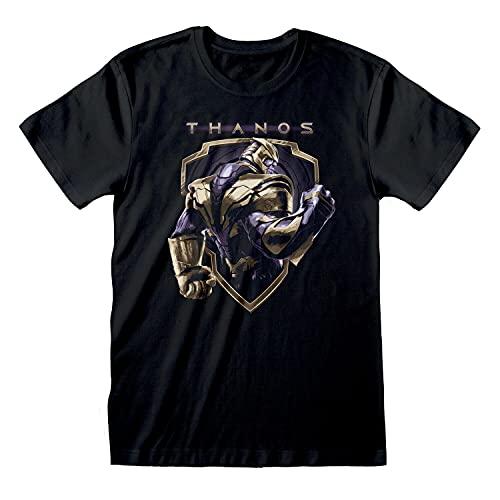 Mens Marvel Avengers Endgame T Shirt Thanos Tee
