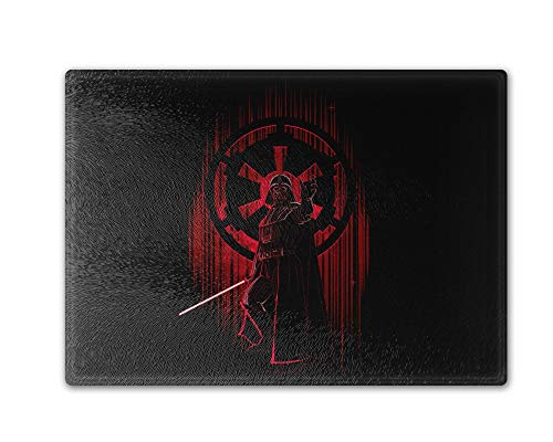 Shadow Of The Empire Cutting Board Tempered Glass 11.25 x 15.5