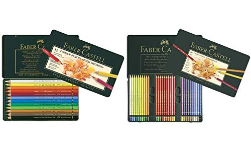 Tin of 36 Polychromos Artists' Pencils