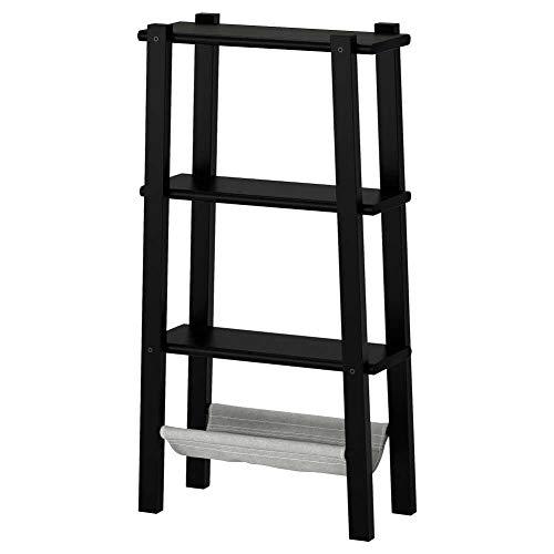 IKEA ASIA VILTO - Estantería, Color Negro