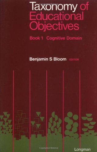 Compare Textbook Prices for Taxonomy of Educational Objectives, Handbook 1: Cognitive Domain 2nd edition Edition Edition ISBN 9780582280106 by Bloom, Benjamin S.