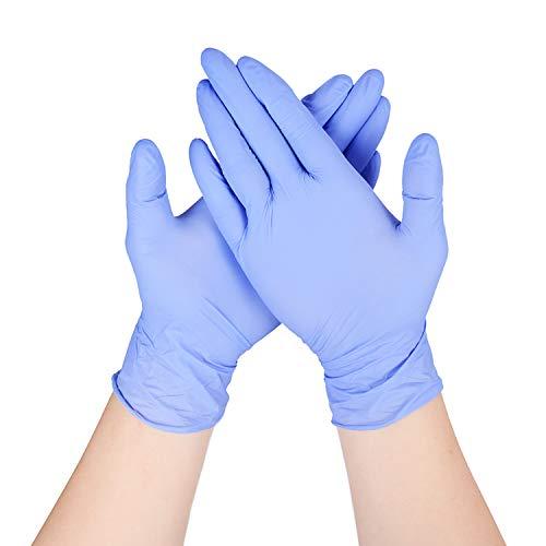 THX Toms 50PCS Geschirrspül Handschuhe, latexfrei, lila Reinigungshandschuhe für Küche und Hausarbeit (L(50 Stück))