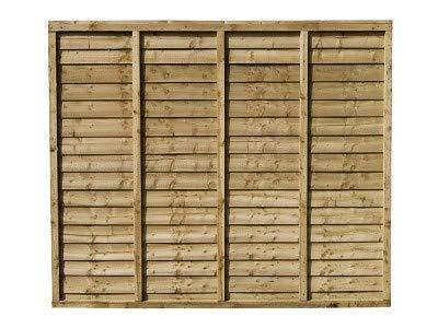 Total Sheds 6x6 (1.83m x 1.83m) 6ft x 6ft Waney Larch Overlap Fence Panels