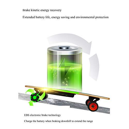 Elektro Skateboard YANGLIUYL Fernbedienung 4-Rad Bild 3*